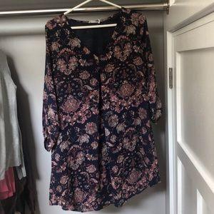 Lush paisley dress